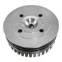 High Performance Silver CNC Aluminum Cylinder Head For 60cc / 80cc Motorized Bike Engine