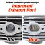 New Zeda 80 Complete 80cc Motorized Bicycle Engine Kit - Ceramic Coated Cylinder -Firestorm Edition