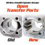 New Zeda 80 T-Belt Drive Complete 80cc Bicycle Engine Kit - Ceramic Coated Cylinder - Firestorm Edition