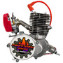 New Zeda 100 Complete 50mm Bore Bicycle Engine Kit -  80cc/100cc - Firestorm Edition