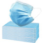 Disposable 3 Layer Surgical Style Face Mask With Ear Loops - Civilian Grade - FDA Registered - 50 Pack - As Low As .57 Each