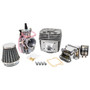 Zeda 100 Performance Bicycle Engine Kit With Dio Reed Valve & OKO Carb - Silver