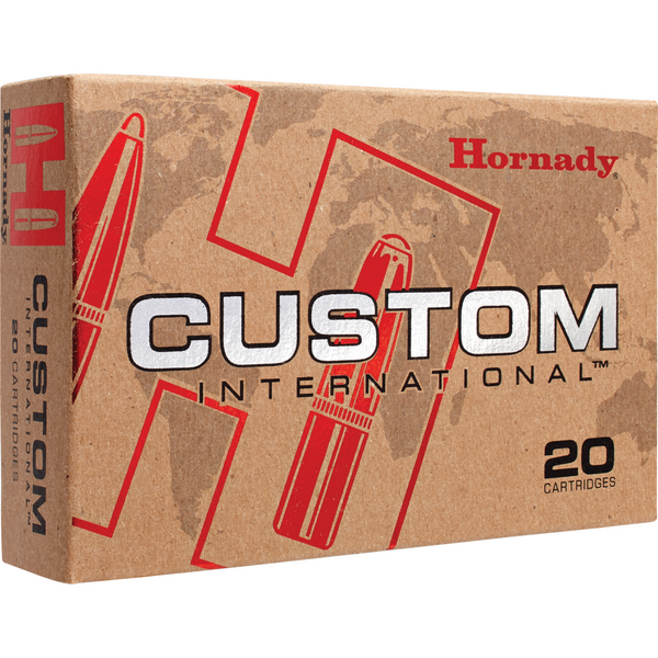 Hornady Custom International 9 3x62 286 Gr InterLock SP