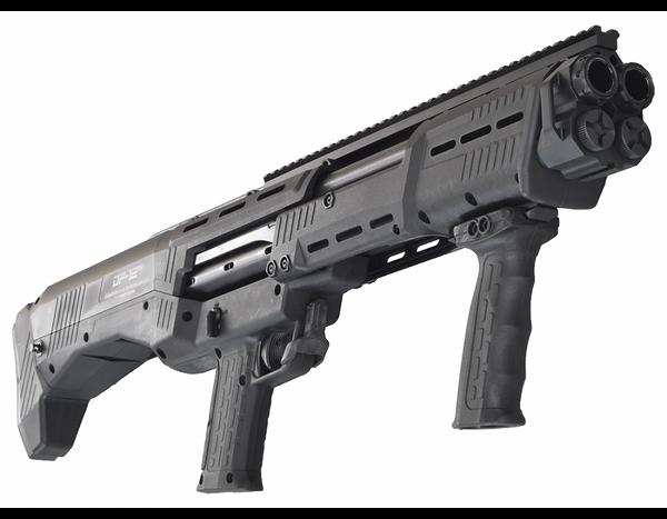 Standard Manufacturing DP-12 Double Barrel Pump Shotgun BLK