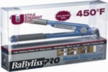 """BaByliss Nano Titanium 1"""" U Styler Flat Iron"""