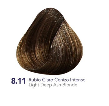 Hidracolor Creme Hair Color Light  Deep Ash Blonde 8.11