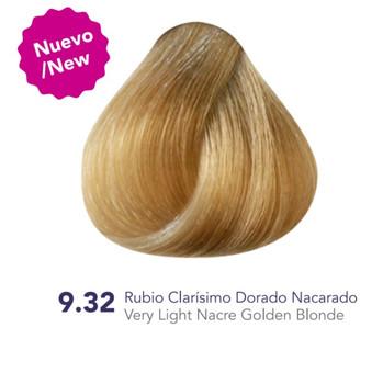 Hidracolor Creme Hair Color Very Light  Nacre Golden Blonde 9.32