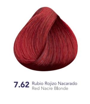 Hidracolor Creme Hair Color Red Nacre Blonde 7.62