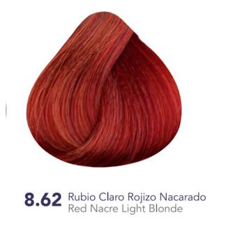 Hidracolor Creme Hair Color Red Nacre Light Blonde 8.62