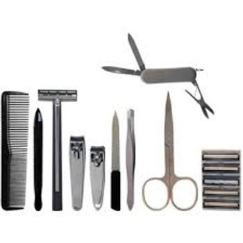 Scalpmaster 10 Piece Men's Grooming Set
