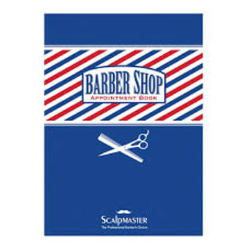 3 Column Barber Appointment Book by Scalpmaster