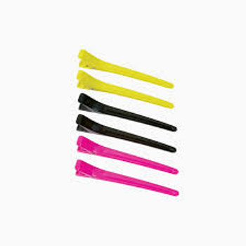 Colortrack Duckbill Clips 6pk