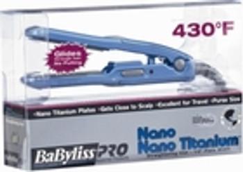 """Babyliss Nano Titanium Mini Flat Iron 1/2"""""""