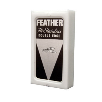 Feather Black Double Edge Razor Blades 5PK