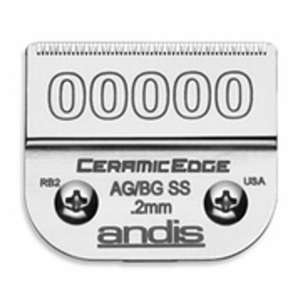 Andis Ceramic Edge Blade  Size 00000 # 64730