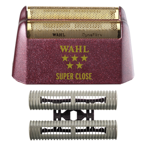 Wahl 5 Star Shaver Replacement Foil Head and Cutter Bar Assembly