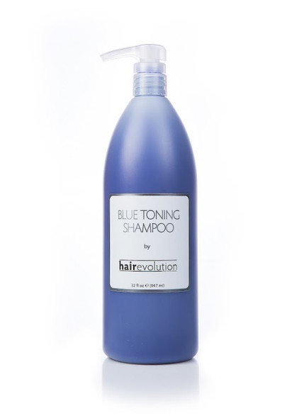 Hair Evolution Blue Toning Shampoo 32oz