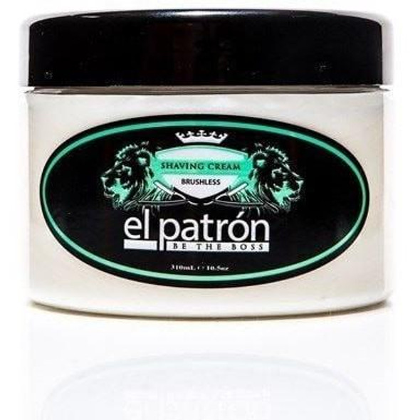 El Patron Shaving Creme Brushless