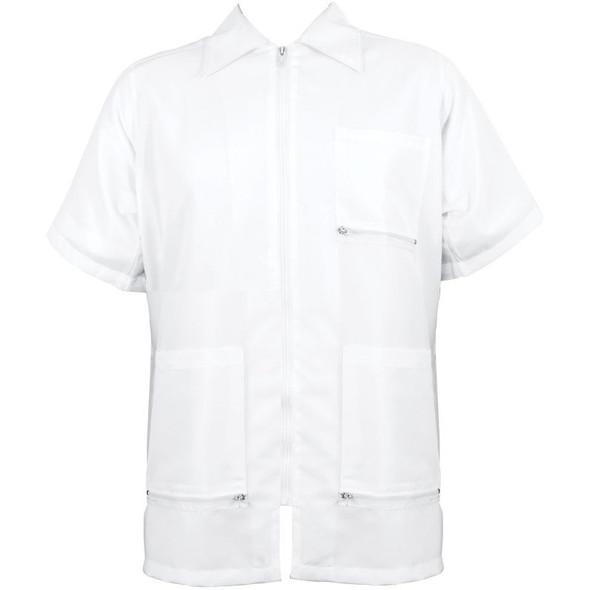 Vincent Traditional Barber Jacket - White