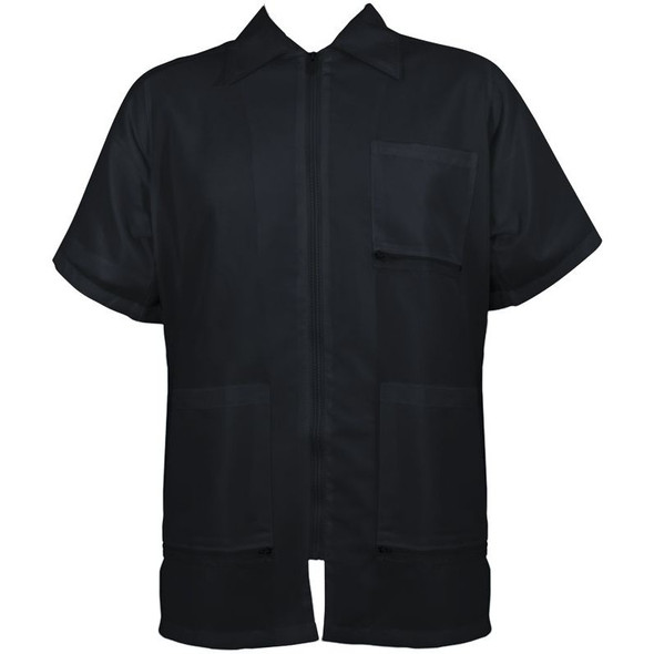 Vincent Traditional Barber Jacket - Black