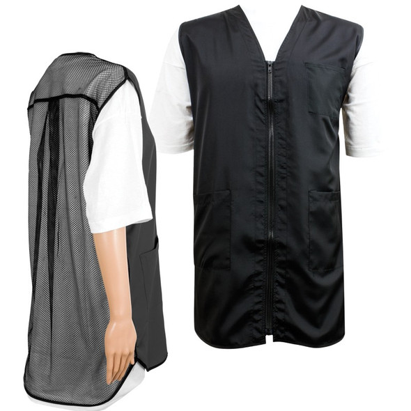 Vincent Mesh Back Vest - Black