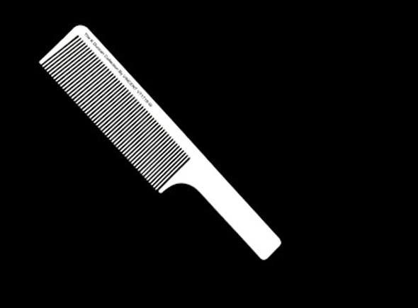 K.D Vincent White Flat Top Combs VT1719W
