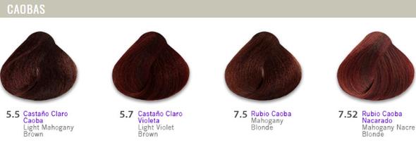 Hidracolor Creme Hair Color Mahogany Series