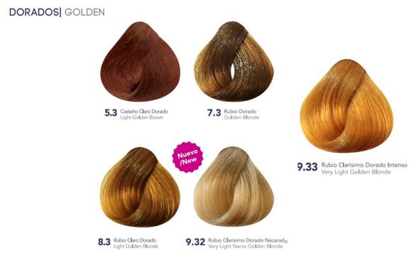 Hidracolor Creme Hair Color Golden Series
