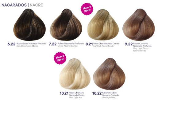 Hidracolor Creme Hair Color Nacre Series