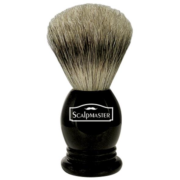 Scalpmaster 100% Badger Shaving Brush SB-18