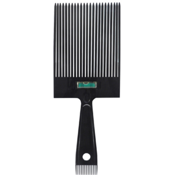 Scalpmaster Flat Top Comb with Level