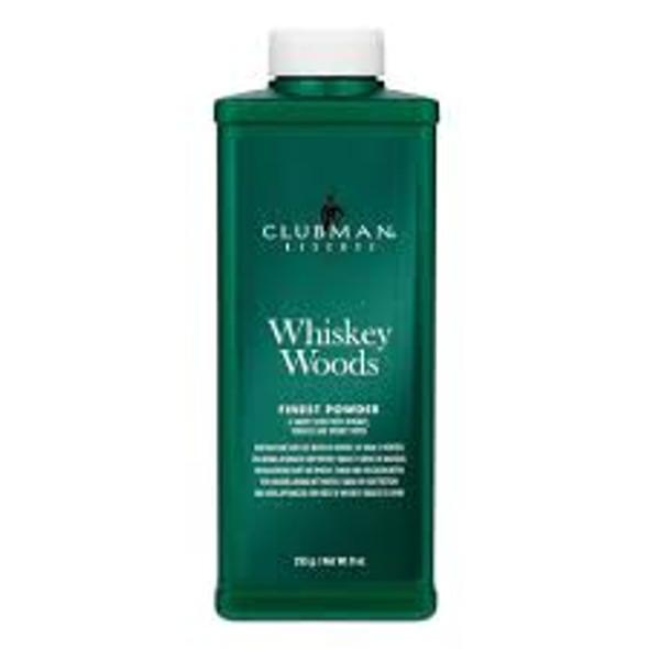 Pinaud Clubman Reserve - Whiskey Woods Powder - 9 oz