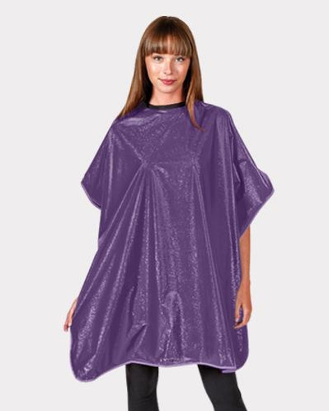 Betty Dain  Shampoo Cape - Purple