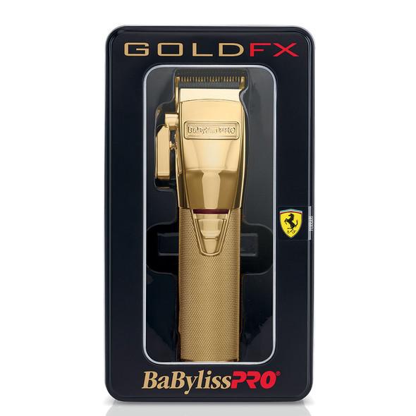 BaByliss Pro Gold FX Metal Lithium Clipper FX870G