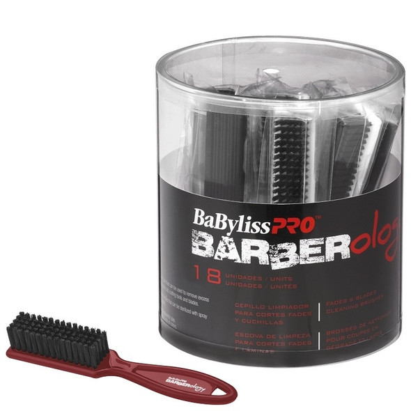 Barberology Fade Clean Brush Bucket