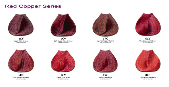 Satin Hair  Color  Red Copper Series 3oz