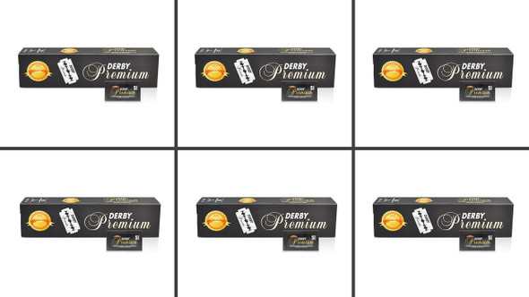 Derby Extra Premium Platinum Blades 6Pack