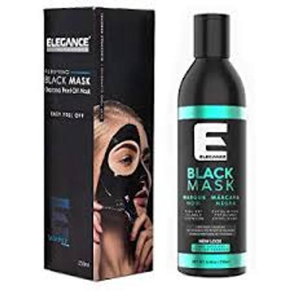 Elegance Purifying Black Peel-Off Face Mask 8.4 oz