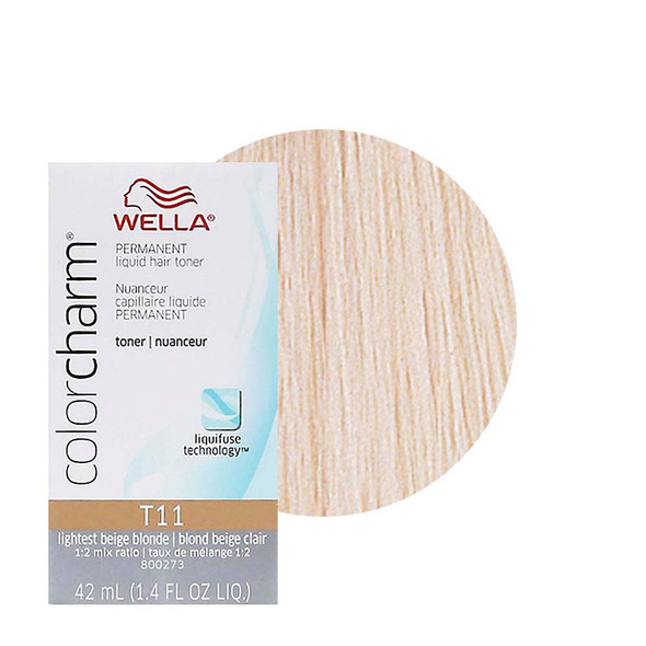 Wella Toner T-14 Pale Ash Blonde