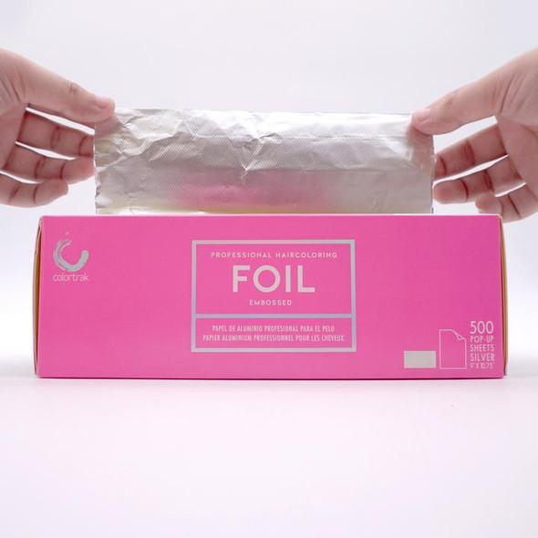 Colortrak Pop Up Foil - Silver 500pk