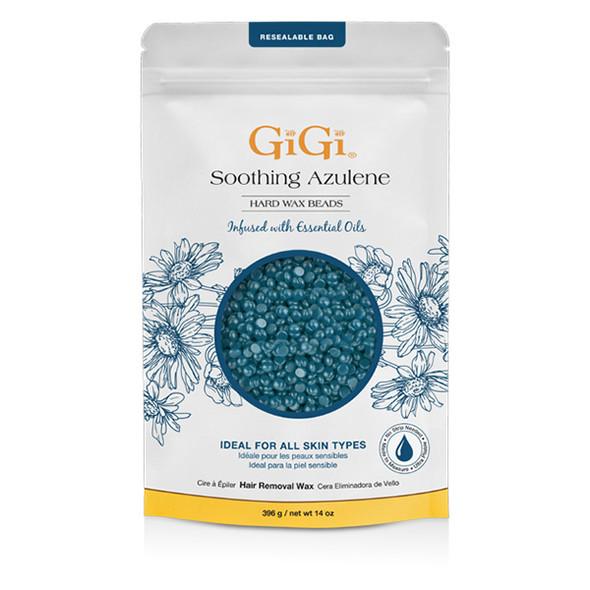 Gigi Soothing Azulene Hard Wax Beads 14 oz