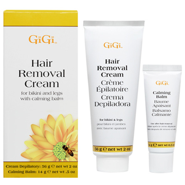 Gigi Hair Removal Cream for Legs and Bikini