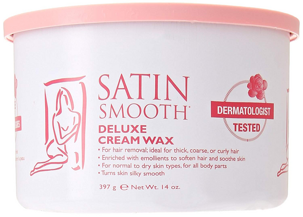 Satin Smooth Deluxe Cream Wax, 14 oz