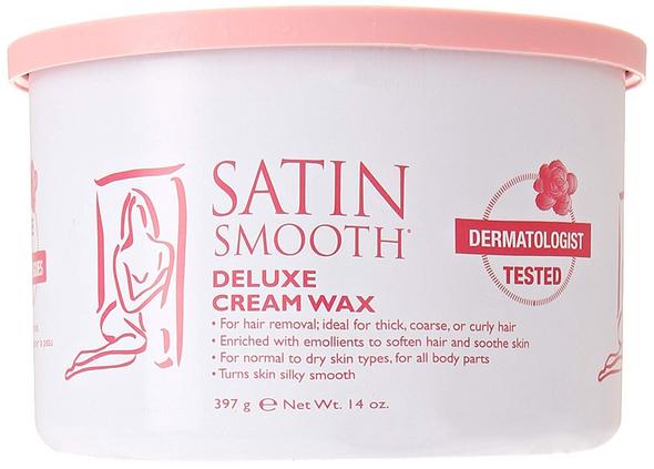 Satin Smooth Deluxe Cream Wax, 14 oz