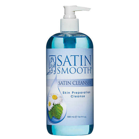 Satin Smooth Satin Cleanser 16 oz