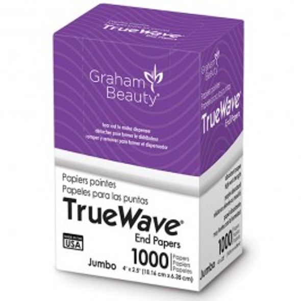 "Graham True Wave Jumbo End Papers 4"" x 2.5"""