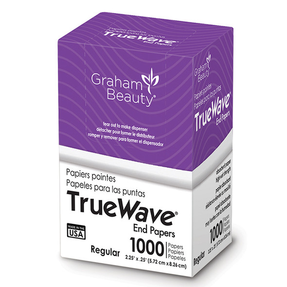 "Graham True Wave Regular End Papers 2.25"" x 3.25"""
