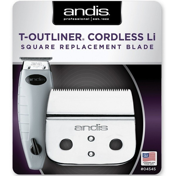 Andis Cordless T-Outliner Li Replacement Square Blade