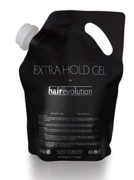 Hair Evolution Extra Hold Gel Refill Bag 64oz