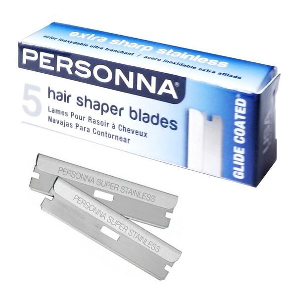 Personna Hair Shaper Blades - 5 Blades